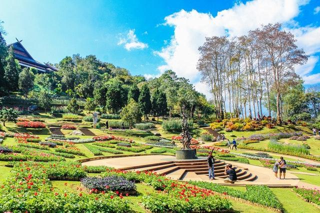Trädgårdar speciell design